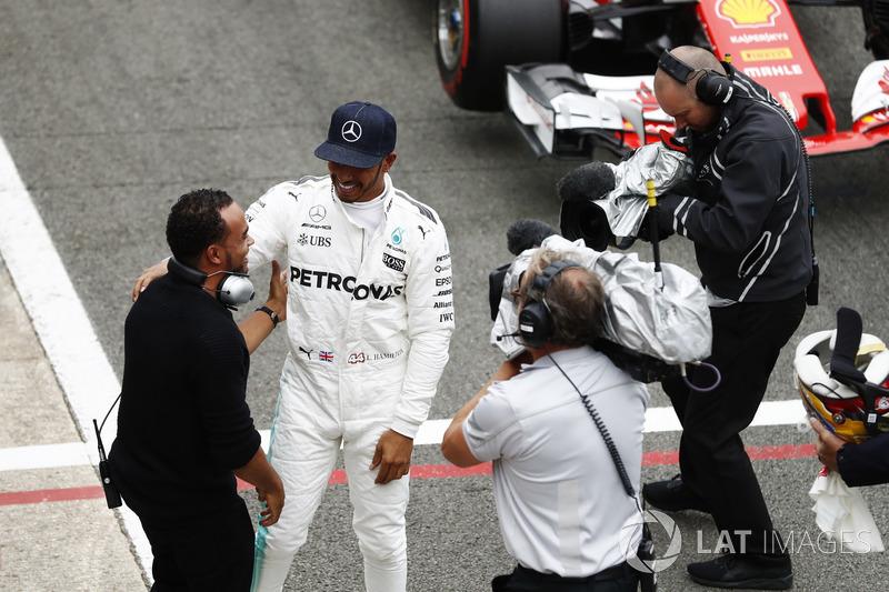 Льюіс Хемілтон, Mercedes AMG F1, Ніколас Хемілтон