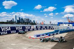 Oliver Turvey, NEXTEV TCR Formula E Team, Adam Carroll, Jaguar Racing