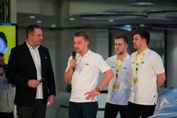Patrick Simon, Indy Dontje, Patrick Assenheimer und Kenneth Heyer, HTP Motorsport