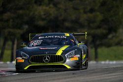 #85 Mercedes-AMG Team HTP Motorsport, Mercedes-AMG GT3: Fabian Schiller, Damian Faulkner, Mike Skeen