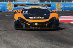 #98 K-Pax Racing, McLaren 650S: Mike Hedlund