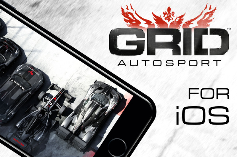 Grid Autosport para IOS