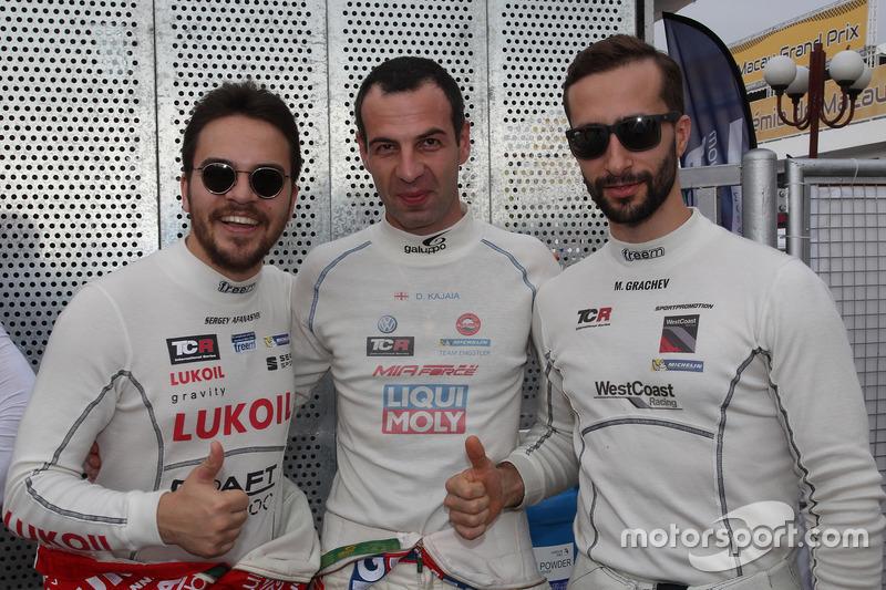 Sergey Afanasyev, Craft Bamboo Racing, SEAT León SEQ; Davit Kajaia, Liqui Moly Team Engstler, Volksw
