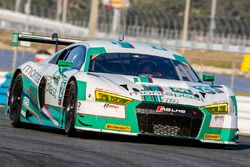 #29 Montaplast by Land-Motorsport Audi R8 LMS GT3: Connor de Phillippi, Jules Gounon, Christopher Mi