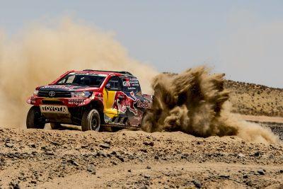 Tests Toyota Gazoo Racing Dakar 2017