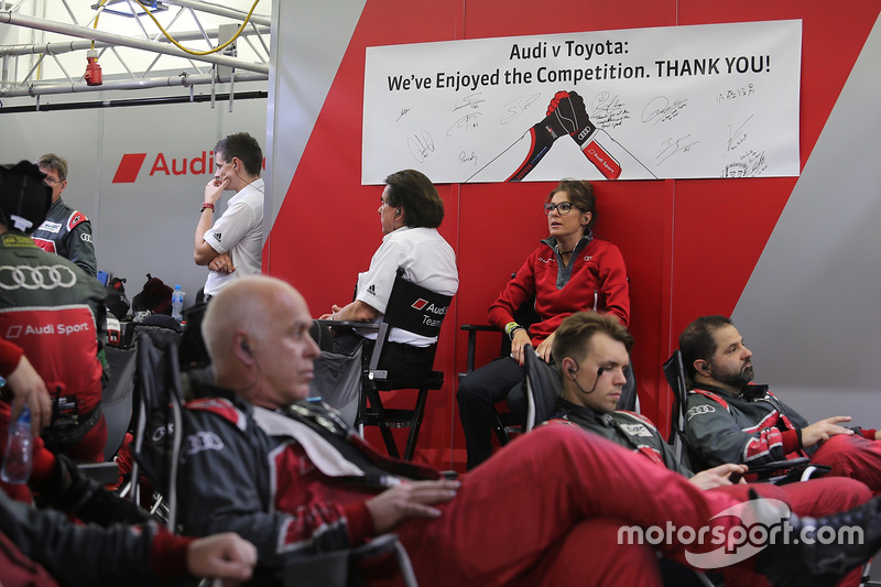 Audi Sport Team Joest vs. Toyota Racing