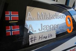 Andreas Mikkelsen, Anders Jæger, Volkswagen Polo WRC, Volkswagen Motorsport :