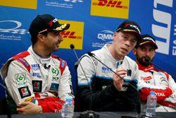 Basın Toplantısı: Mehdi Bennani, Sébastien Loeb Racing, Citroën C-Elysée WTCC; Thed Björk, Polestar