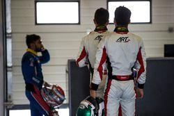 Akash Nandy, Jenzer Motorsport, Nyck De Vries, ART Grand Prix & Nirei Fukuzumi, ART Grand Prix