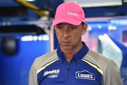 Chad Knaus, crew chief of Jimmie Johnson, Hendrick Motorsports Chevrolet