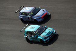 Jean-Karl Vernay, Leopard Racing Team WRT, Volkswagen Golf GTi TCR, Gabriele Tarquini, BRC Racing Te