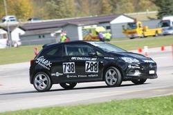Elio Barbezat, Opel Corsa OPC, Guex Motorsport, Course 1