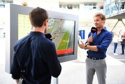 Anthony Davidson, Sky TV en Nico Rosberg, Mercedes-Benz ambassadeur