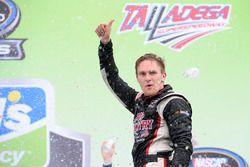 Race winner Parker Kligerman, Henderson Motorsports Toyota