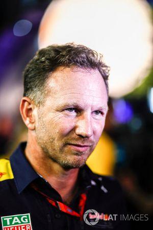 Christian Horner, director del equipo, Red Bull Racing