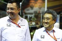 Eric Boullier, McLarne-Rennleiter Masashi Yamamoto, Honda-Chef