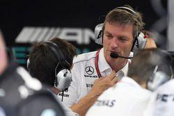 James Allison, Mercedes AMG F1 y Toto Wolff, Mercedes AMG F1