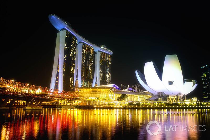 Circuito Callejero De Marina Bay : GalerÍa: lo mejor del jueves en imágenes