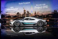 Mercedes-AMG Project ONE lansman aracı