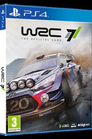 Cover WRC 7 para Playstation 4