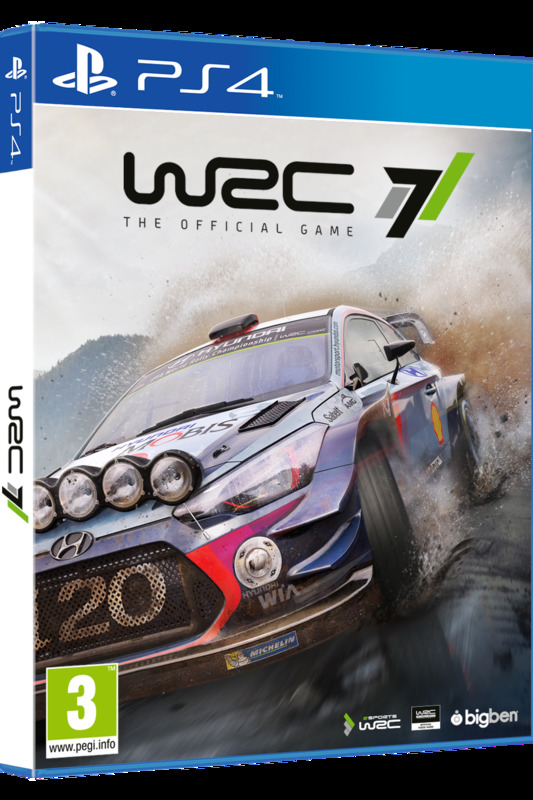 Cover WRC 7 para Playstation 4
