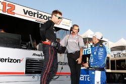 Will Power, Team Penske Chevrolet, Graham Rahal, Rahal Letterman Lanigan Racing Honda