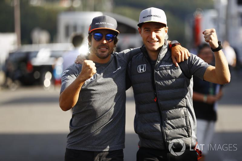 Fernando Alonso en Stoffel Vandoorne