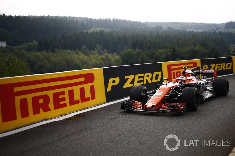 20. Stoffel Vandoorne, McLaren MCL32