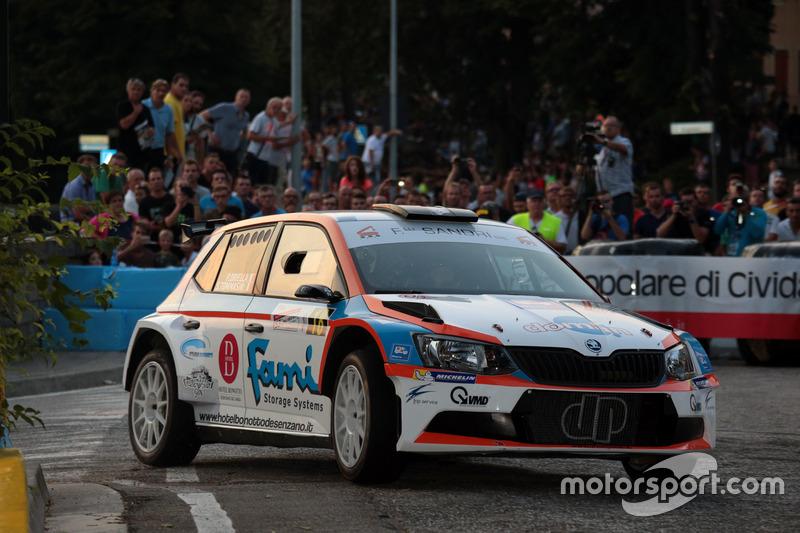Paolo Oriella, Sandra Tommasin, Skoda Fabia R5, Rally Team)