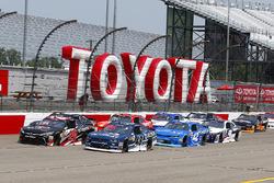 Kyle Benjamin, Joe Gibbs Racing, Toyota; Brennan Poole, Chip Ganassi Racing, Chevrolet