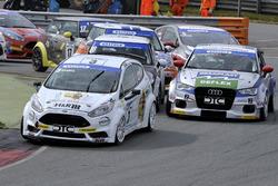 Heiko Hammel, Wolf Racing und Milenko Vukovic, Audi A3