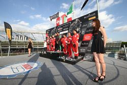Pro Am Cup: Winner #97 Oman Racing Team with TF Sport, Aston Martin V12 GT3: Ahmad Al Harthy, Jonny