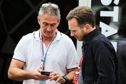 Mick Doohan, Christian Horner, Red Bull Racing Team Principal