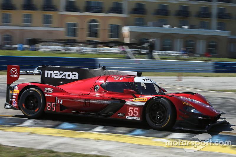 5. P: #55 Mazda Motorsports, Mazda DPi