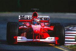 Michael Schumacher, Ferrari F1-2000