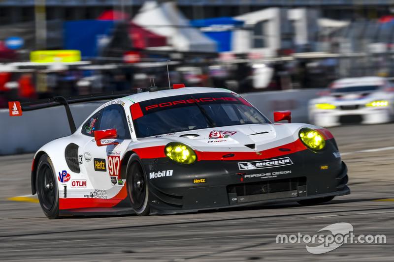 8. GTLM: #912 Porsche Team North America, Porsche 911 RSR