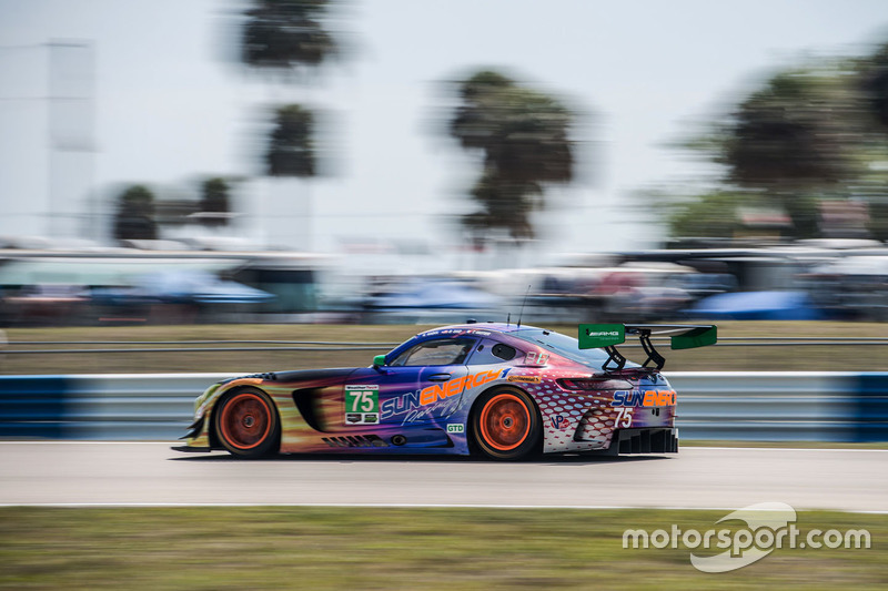 3. GTD: #75 SunEnergy1 Racing, Mercedes AMG GT3