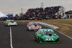 Juan Jose Ebarlin, Donto Racing Chevrolet, Norberto Fontana, JP Carrera Chevrolet, Martin Ponte, UR