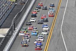 Ben Kennedy, GMS Racing Chevrolet, Ty Dillon, Richard Childress Racing Chevrolet