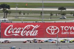 Joey Logano, Team Penske Ford, Ben Kennedy, GMS Racing Chevrolet