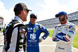 Jimmie Johnson, Hendrick Motorsports Chevrolet, Dale Earnhardt Jr., Hendrick Motorsports Chevrolet,