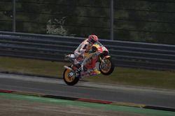 Marc Marquez di video game MotoGP 17