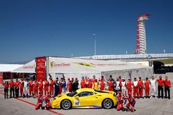 Ferrari Challenge, foto di gruppo