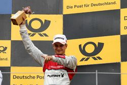 Podium: le troisième Nico Müller, Audi Sport Team Abt Sportsline, Audi RS 5 DTM