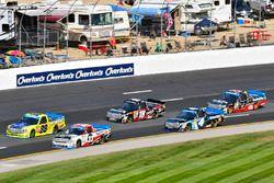 Kaz Grala, GMS Racing Chevrolet and Matt Crafton, ThorSport Racing Toyota