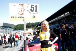 Pitspoes van Nico Müller, Audi Sport Team Abt Sportsline, Audi RS 5 DTM