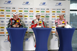Press Conference: Race winner Callum Ilott, Prema Powerteam, Dallara F317 - Mercedes-Benz, second place Joel Eriksson, Motopark Dallara F317 - Volkswagen, third place Maximilian Günther, Prema Powerteam Dallara F317 - Mercedes-Benz