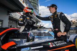 I vincitori Loris Spinelli e Mikaël Grenier, Antonelli Motorsport