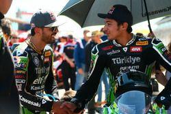 Kenan Sofuoglu, Kawasaki Puccetti Racing, Toprak Razgatlioglu, Kawasaki