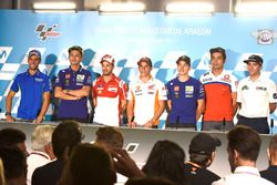 Alex Rins, Team Suzuki MotoGP, Valentino Rossi, Yamaha Factory Racing, Andrea Dovizioso, Ducati Team